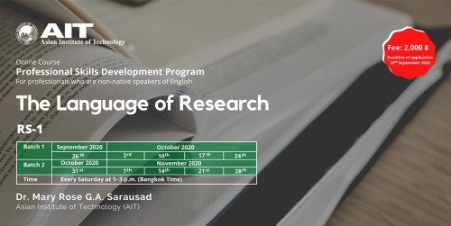 The Language of Research